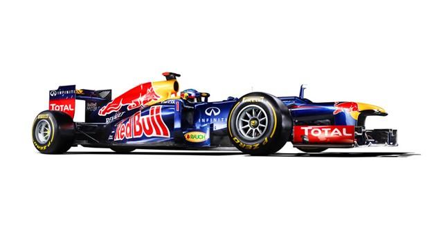 Red Bull RB8 - Bahagian Sisi