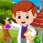 Games4King Environmental Scientist Boy Rescue Walkthrough