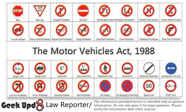 The Motor Vehicles Act, 1988 [PDF Download]