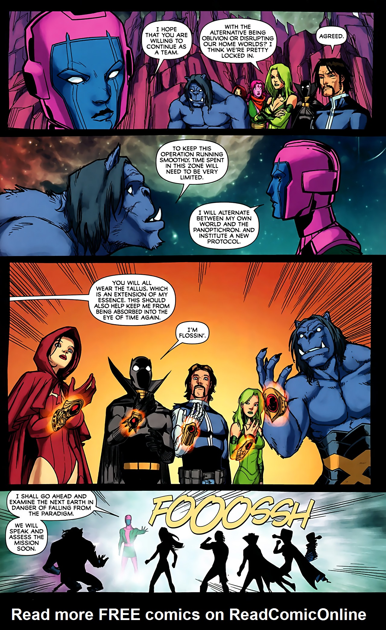 Read online Exiles (2009) comic -  Issue #6 - 37