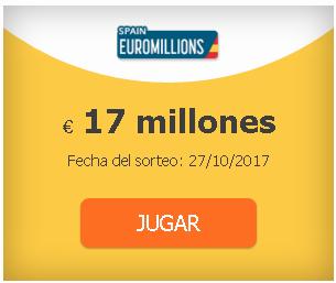 probabilidades euromillones para jugar desde españa