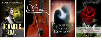 Books of Blair McDowell