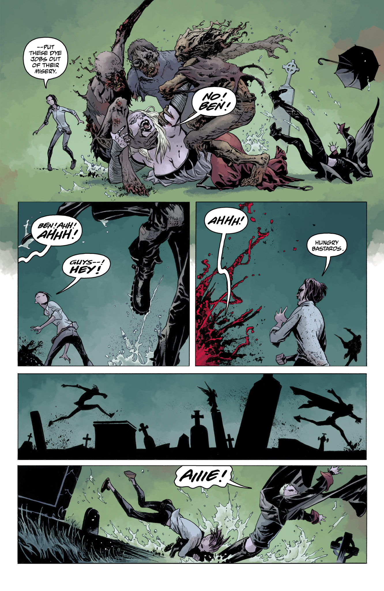Read online Abe Sapien comic -  Issue #10 - 17