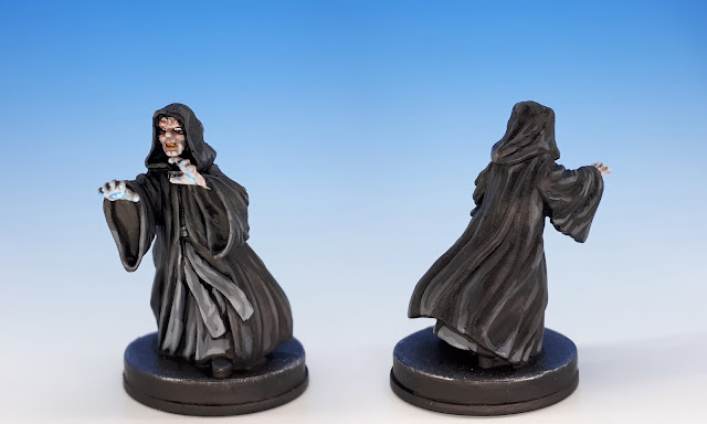 Emperor Palpatine, painted miniature sculpted by Niklas Norman, 2017