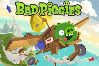 Free Download Bad Piggies HD Apk v1.9.1 Mod (Unlimited Power-Ups/Unlocked) terbaru 2016