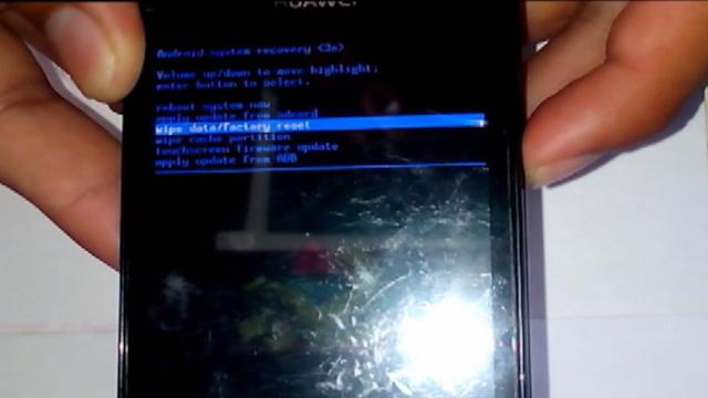 restaurar un Huawei Y300