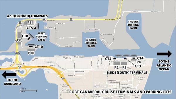 St Thomas Map Cruise Terminal