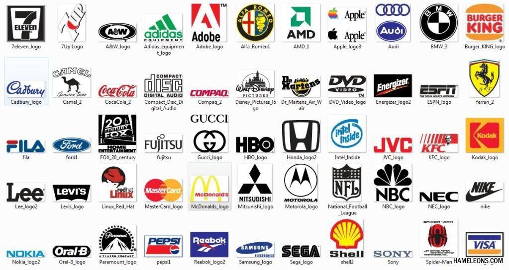 картинки логотипы с названиями