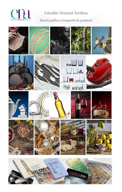 Estudio Manuel Arribas, diseño gráfico y fotografía de producto