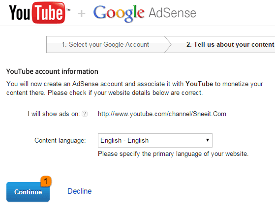 enable-adsense-for-youtube-blogger-paid-with-adsense-continue