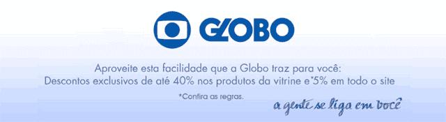 Desconto da parceria Globo e Ponto Frio
