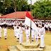 SMP Negeri 1 Hiliserangkai gelar upacara peringatan HUT KEMRI Ke - 72.