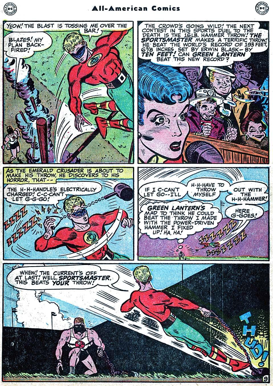 Read online All-American Comics (1939) comic -  Issue #98 - 11