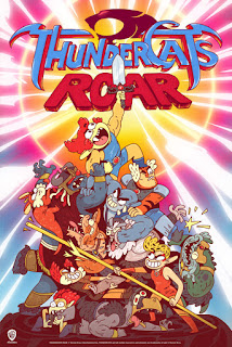 WB Cartoon Network Thundercats Roar Animated Series Announcement Poster
