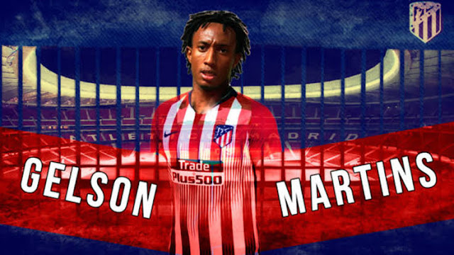 Atletico Madrid sign Gelson Martins on free transfer