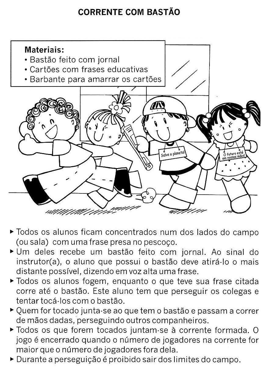 Preferência BRINCADEIRAS PARA EDUCAÇÃO INFANTIL - Atividades Pedagógicas DH67