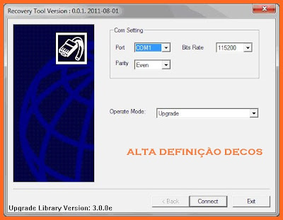 1 Tocomsat Phoenix HD  Tutorial  Recovery Download
