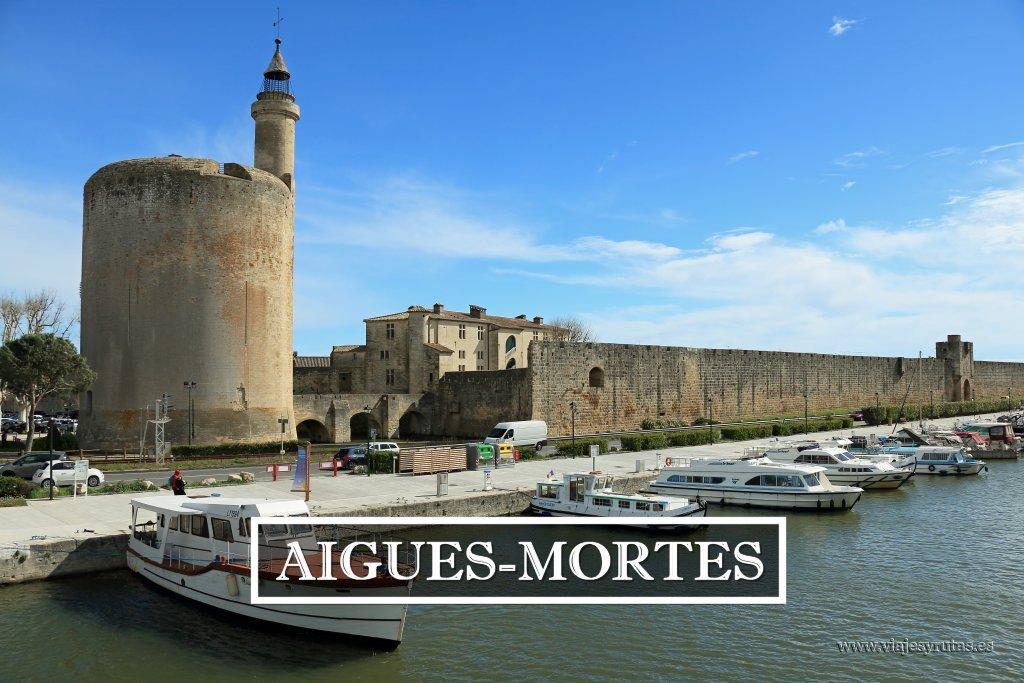 Aigues-Mortes, una ciudad amurallada junto al Mediterráneo