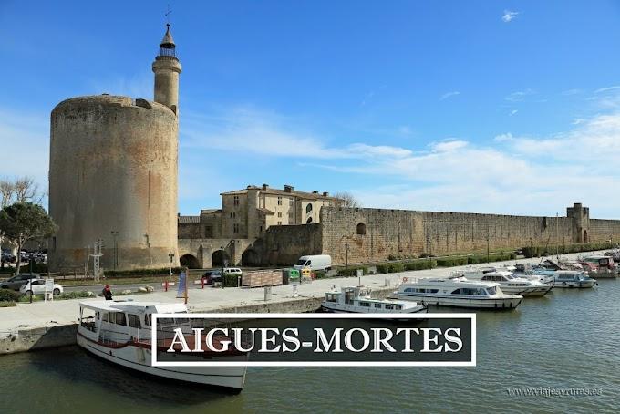 Aigues-Mortes, ciudad amurallada junto al Mediterráneo