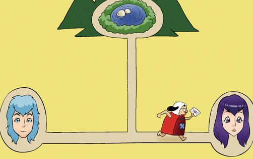 Kim Chi & Củ Cải (bộ mới) phần 473: Người đưa thư