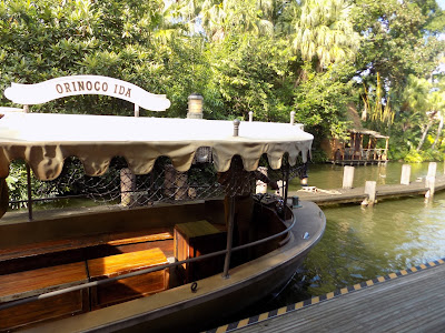 Boat for the Jungle Cruise