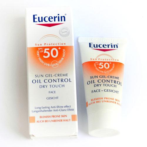 Gel-creme Oil Control Dry de Eucerin mini talla en Birchbox Junio