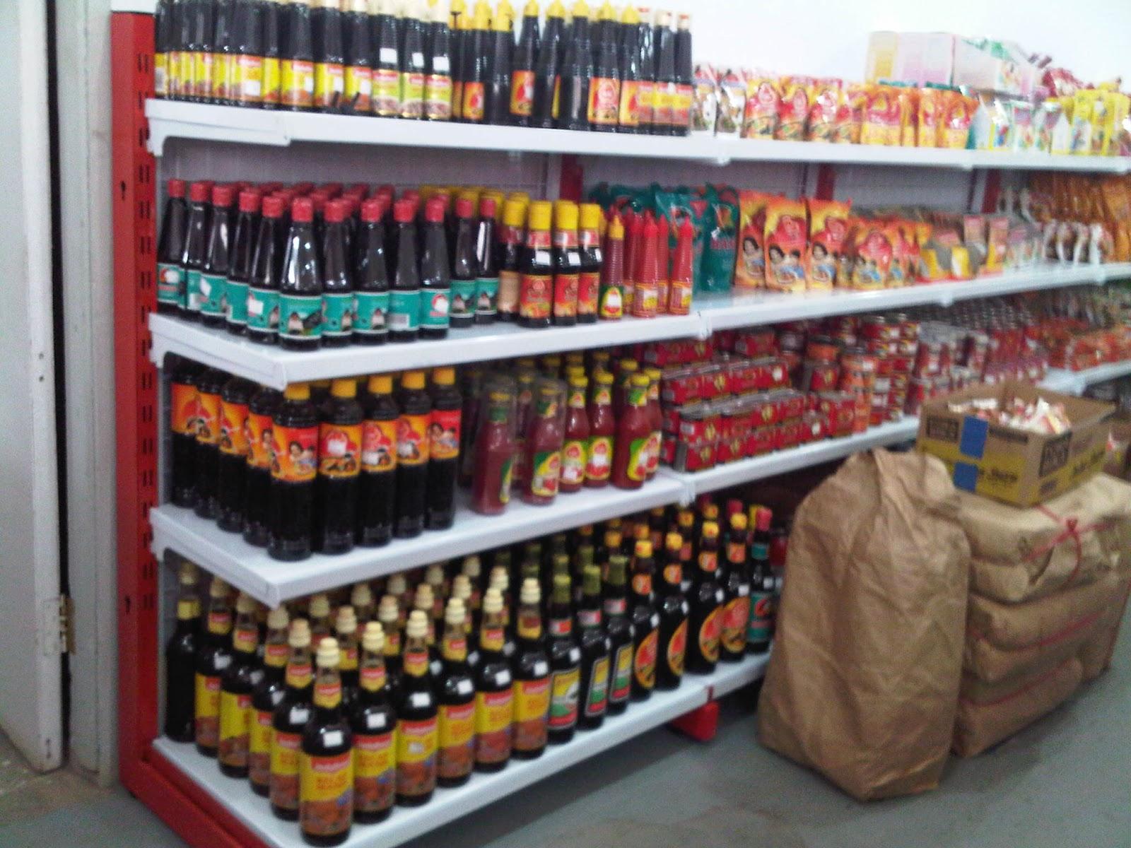 Rak Supermarket dan Minimarket