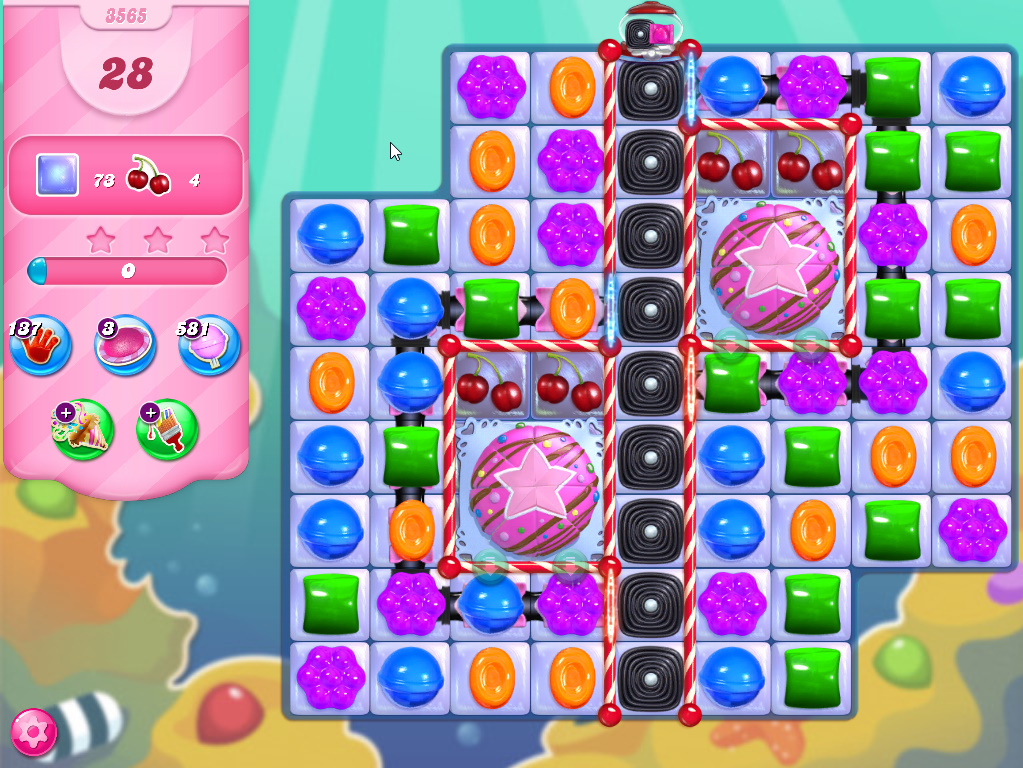 Candy Crush Saga level 3565