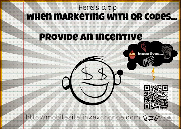 Tips for a Successful QR Code Marketing Campaign - Incentives