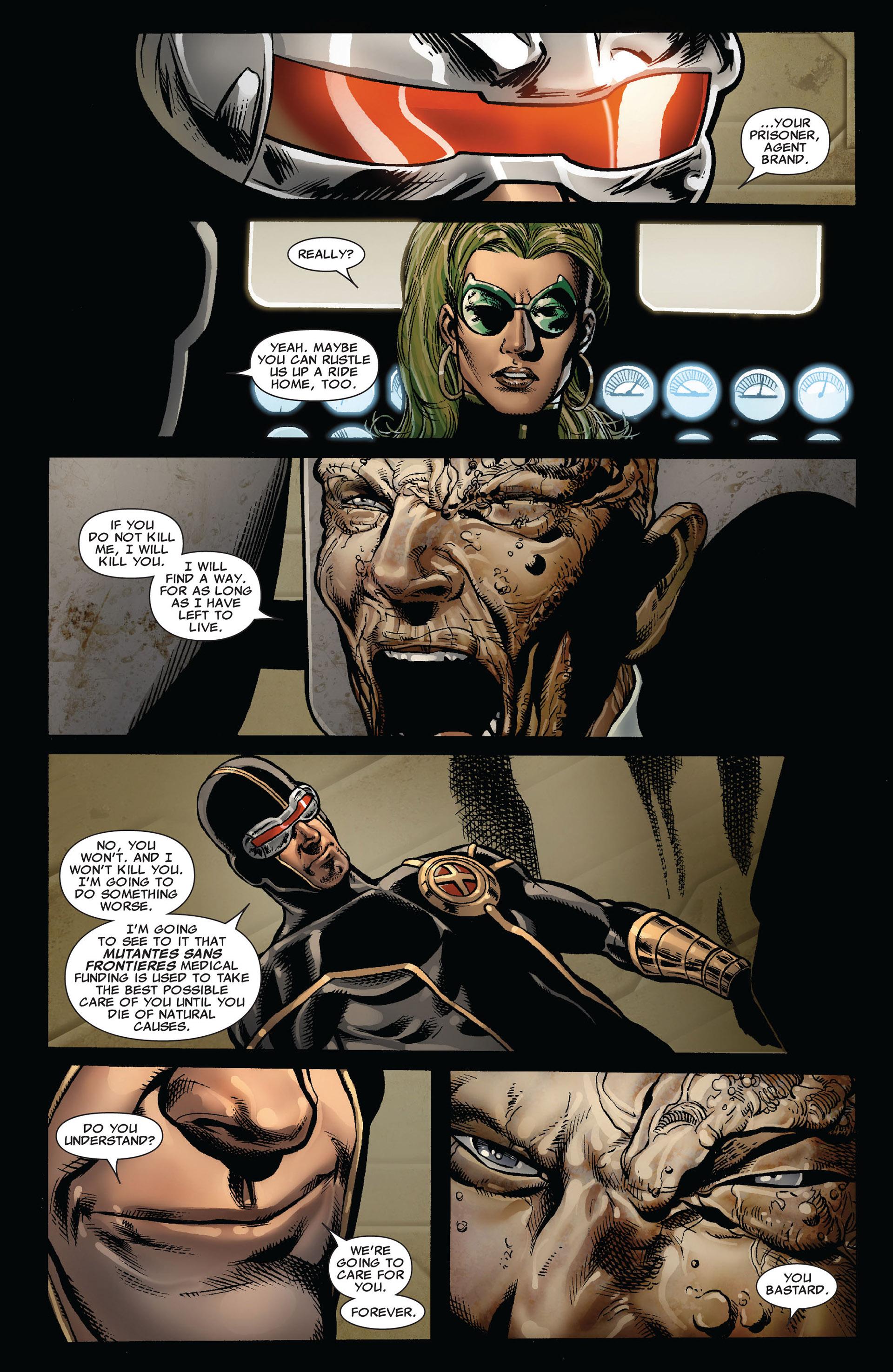 Read online Astonishing X-Men (2004) comic -  Issue #35 - 19