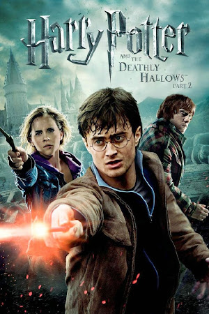 Poster Of Harry Potter and the Deathly Hallows Part 2 2011 In Hindi Bluray 1080P HEVC Free Download