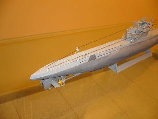 u-boote alemán de la IIGM tipo VII C