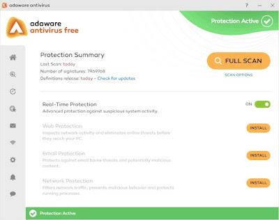 برنامج Adaware Antivirus