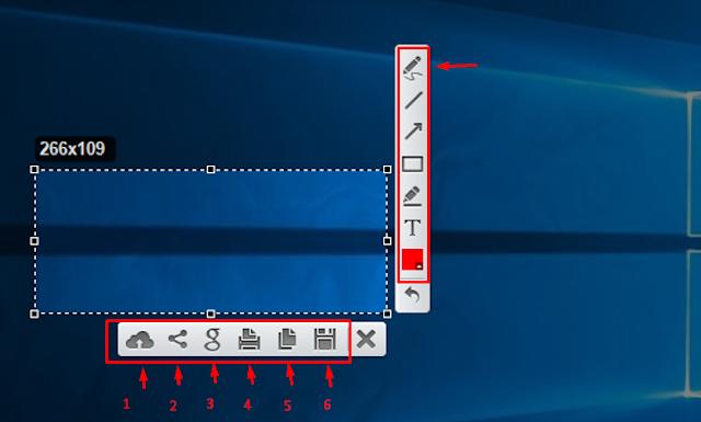 Langkah menggunakan lightshot di laptop