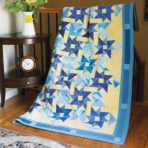 Midnight Reflection Quilt Free Pattern