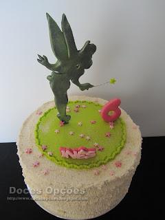 Tinkerbell disney cake
