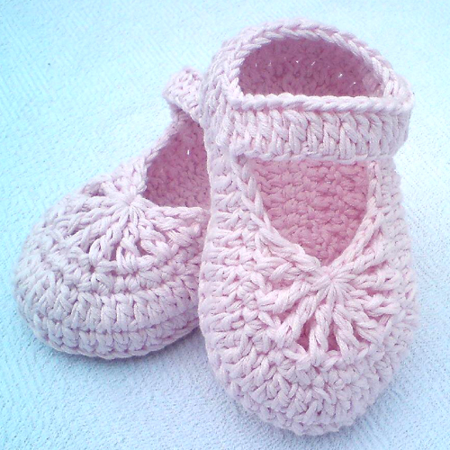 YARA Simple Baby Shoes - Free Pattern