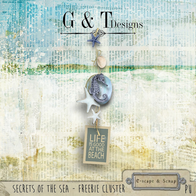 G&T Designs - Secrets of the Sea & Freebie