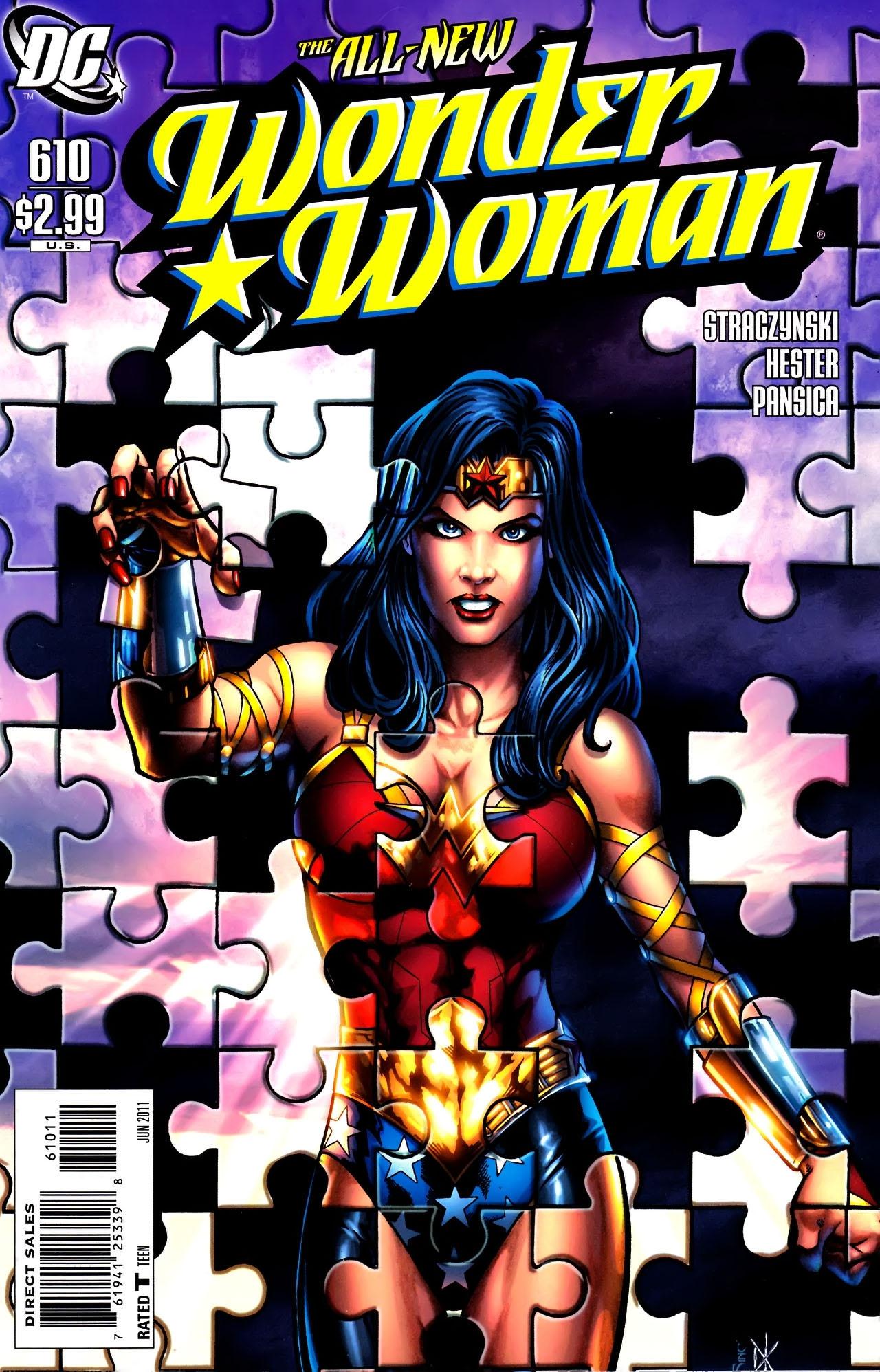 Read online Wonder Woman (2006) comic -  Issue #610 - 1