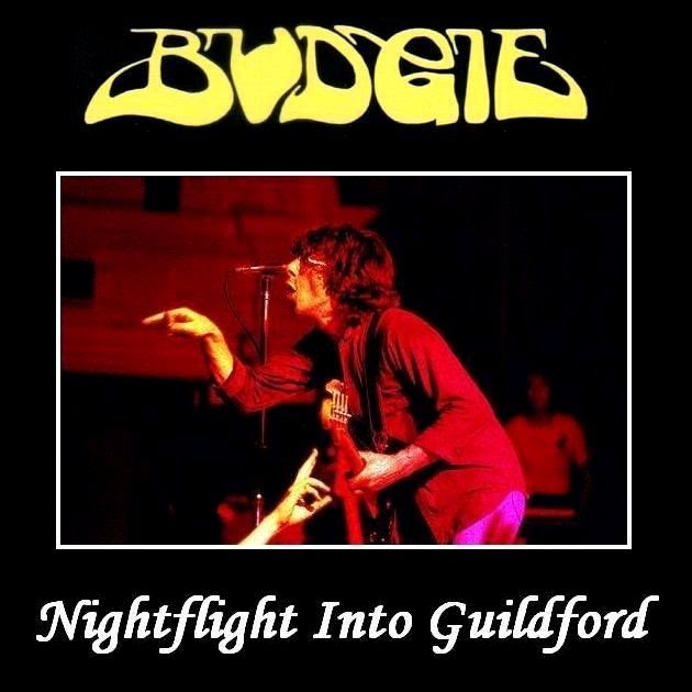 Rock On Vinyl Budgie Nightflight Into Guildford Uk