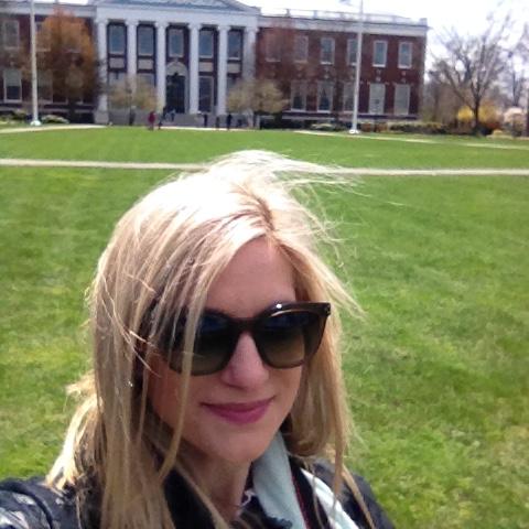 bijuleni - selfie Harvard campus