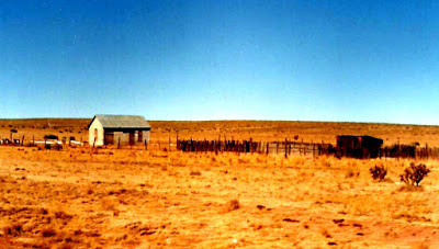 The Hinds House Near the Debris Field