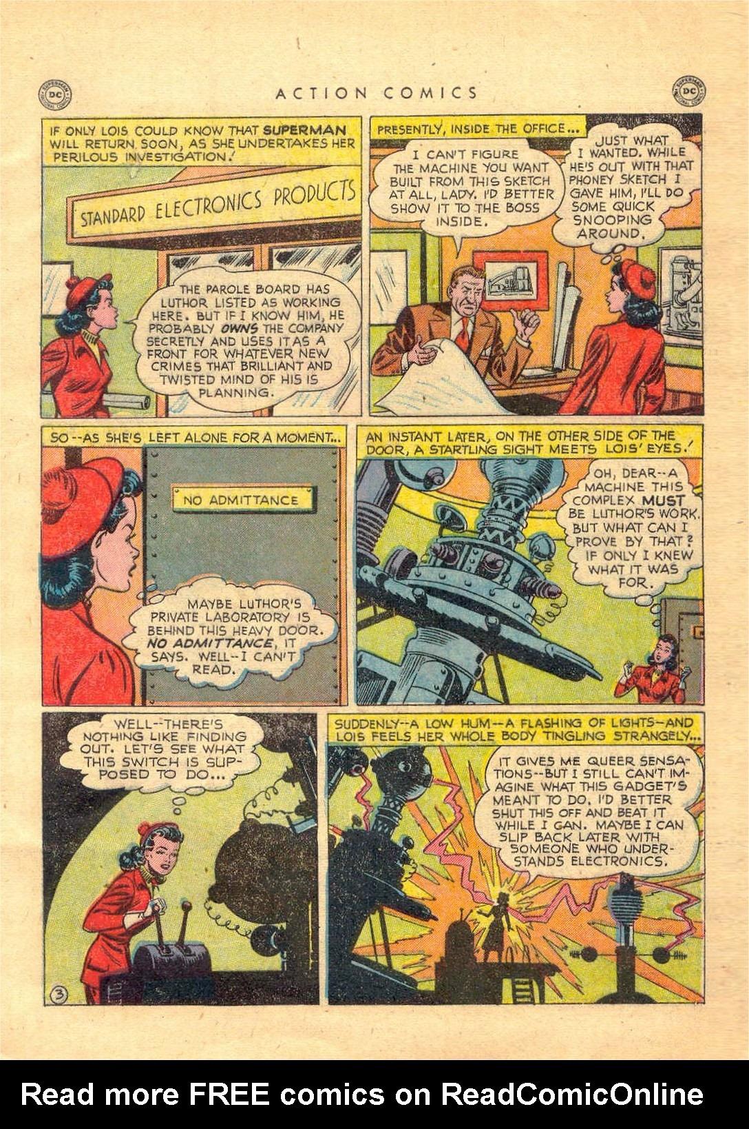 Action Comics (1938) 156 Page 3