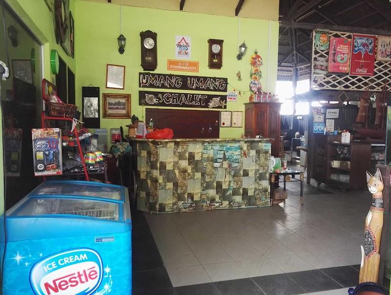Bermalam di Umang-Umang Chalet, Kuala Linggi Melaka