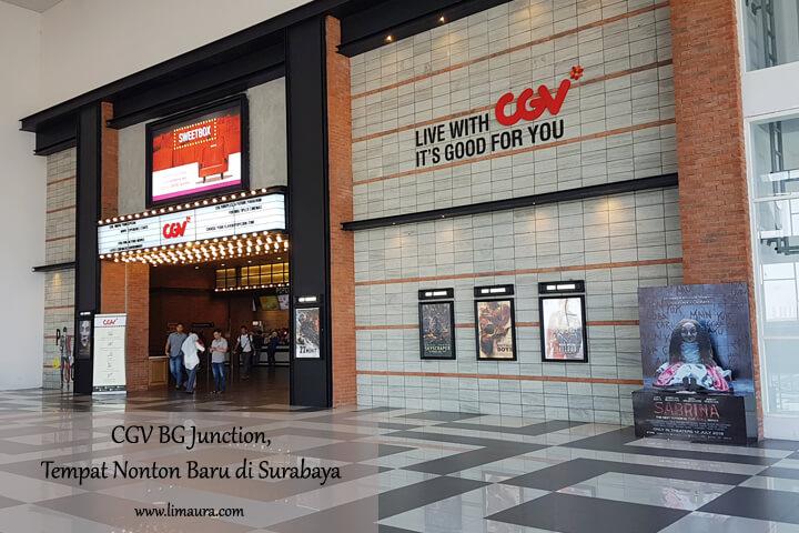 CGV BG Junction, Tempat Nonton Baru di Surabaya Utara