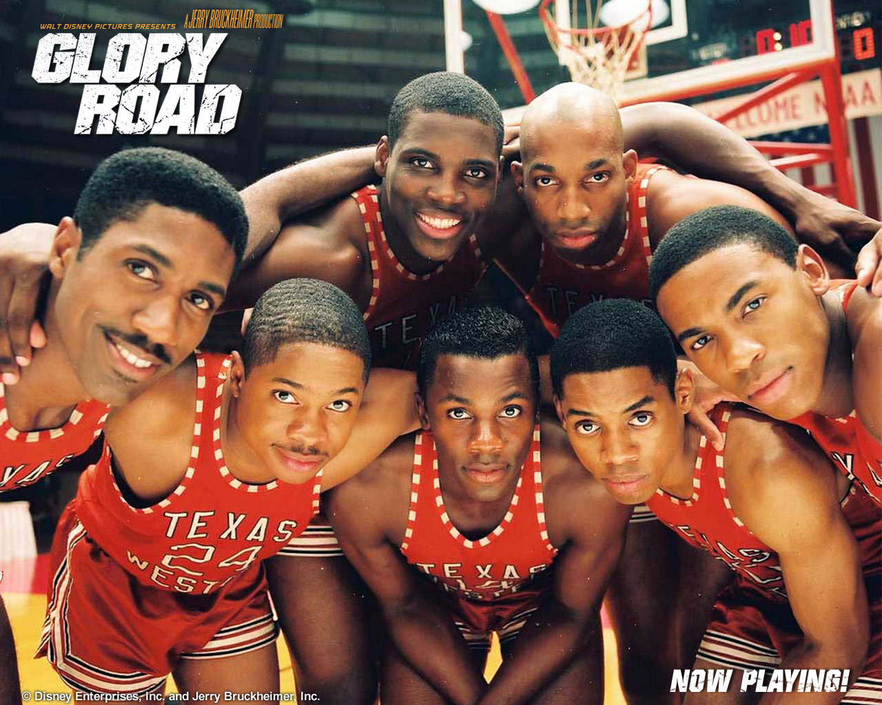 texas history history made by the texas western miners  glory road