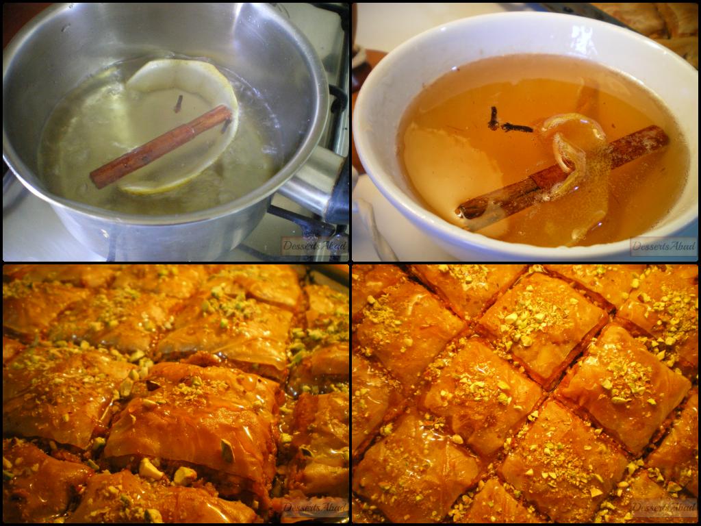 Baklava de Jijona (almíbar)