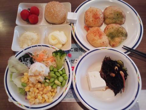 健康サラダバーランチ¥647-2 ステーキガスト一宮尾西店9回目
