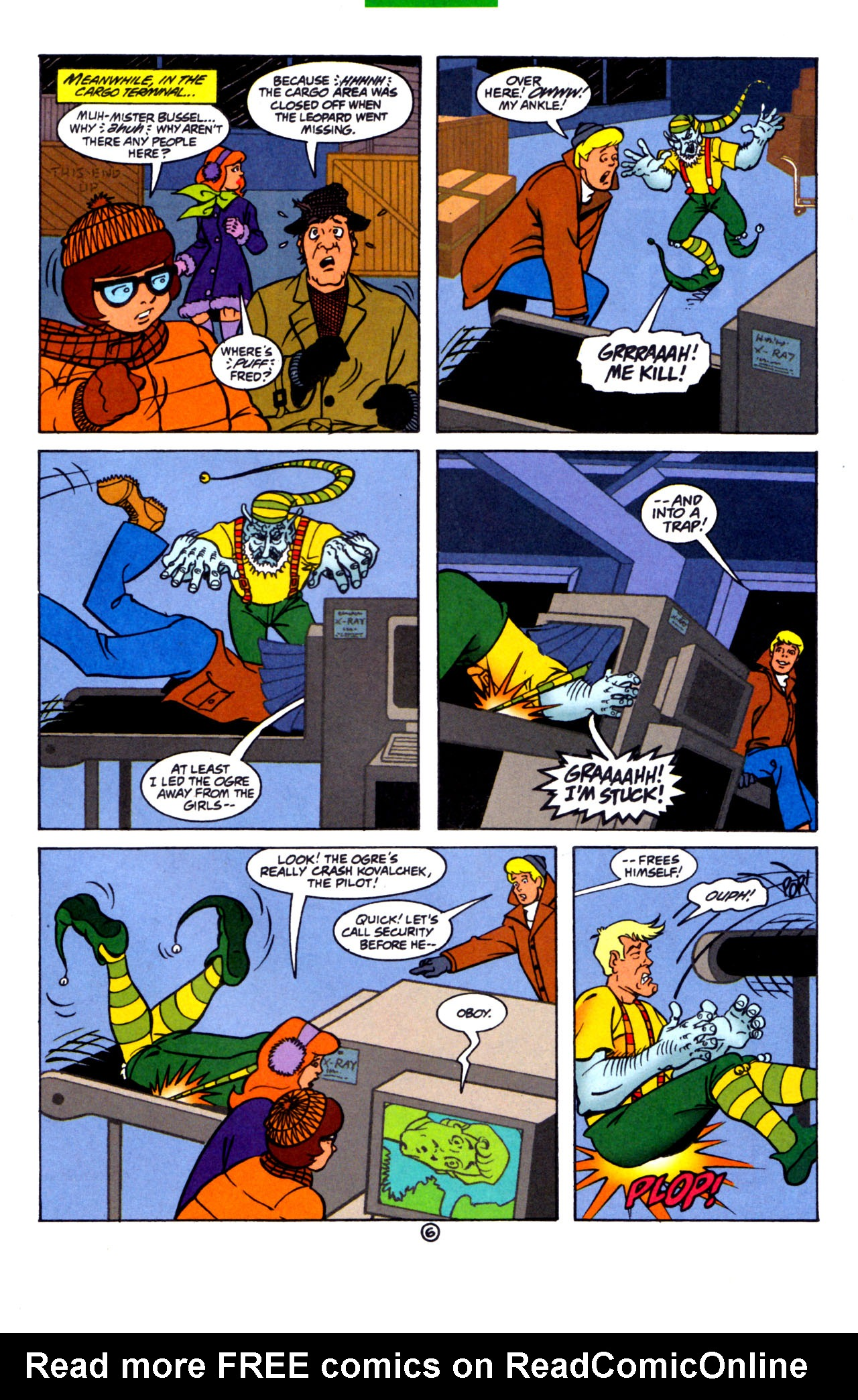 Read online Scooby-Doo (1997) comic -  Issue #7 - 7