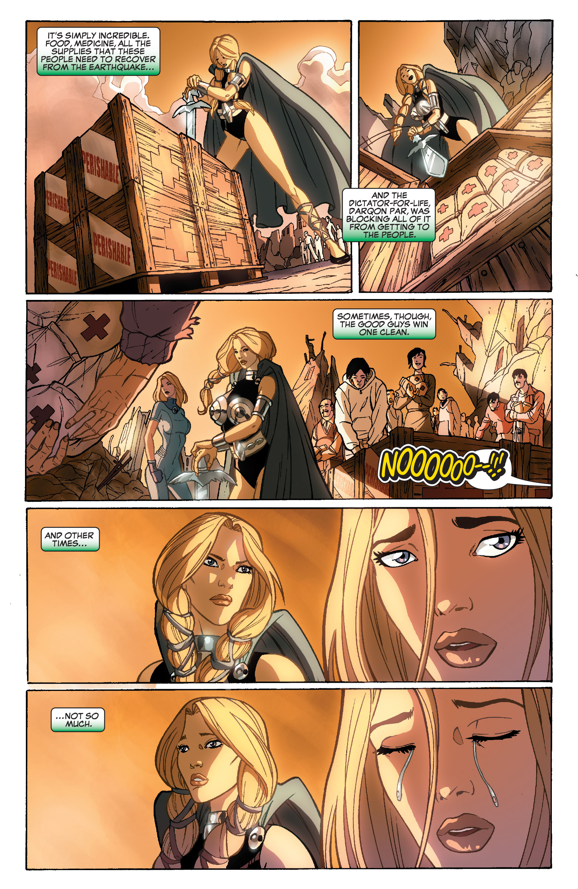 Read online She-Hulk (2005) comic -  Issue #35 - 20